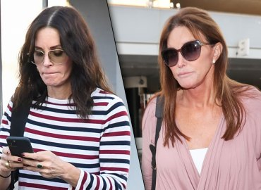 Courteney Cox and Caitlyn Jenner