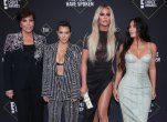 Kris Jenner, Kourtney Kardashian, Khloe Kardashian and Kim Kardashian West