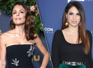 Bethenny Frankel and Jennifer Aydin