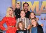Tori Spelling, Dean McDermott and the kids
