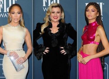 Jennifer Lopez Kelly Clarkson Zendaya