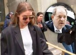 Model Gigi Hadid leaves New York Criminal Court on. Hadid, who lives in Manhattan, is a potential juror in Harvey Weinstein's rape trial and Harvey Weinstein