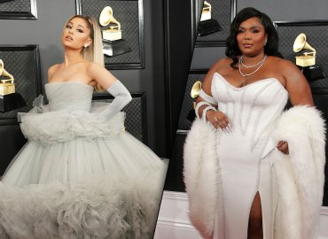 Ariana Grande and Lizzo