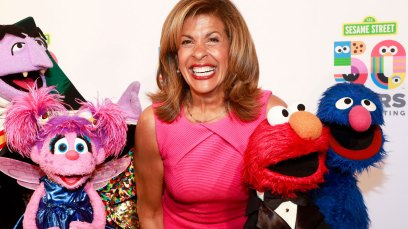 Hoda Kotb and the Muppets