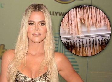 Khloe kardashian weave closet wigs instagram