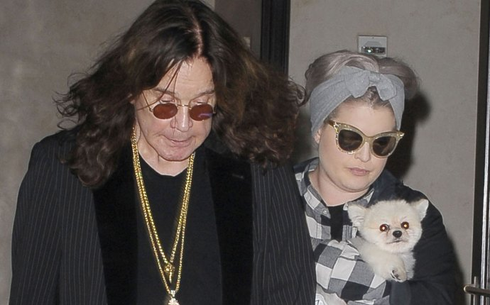 -PICTURED: Ozzy Osbourne and Kelly Osbourne