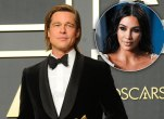 Brad Pitt and Kim Kardashian