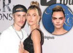 Justin Bieber and Hailey Baldwin; Cara Delevingne