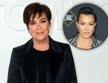 Kris Jenner and Kourtney Kardashian