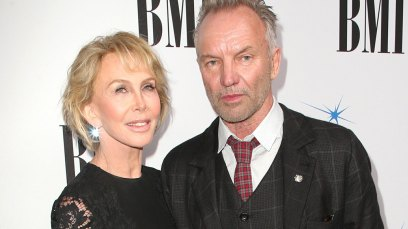 -PICTURED: Sting and Trudie Styler