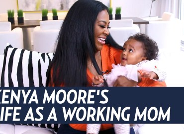 Kenya Moore Working mom