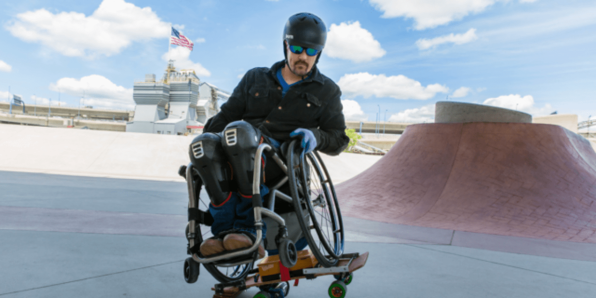 51-year-old paraplegic invents his own wheelchair skateboard | Adventure Sports Network