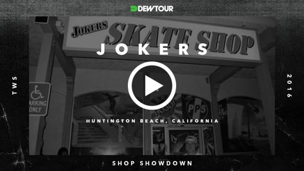 Jokers thumb play button