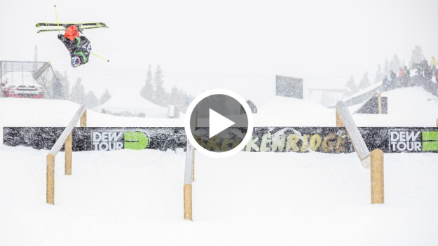 Team challenge head skis third place runs dew tour breckenridge 2016 jesper tjader evan mceachran