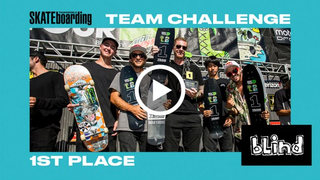Blind Skateboards Wins TransWorld SKATEboarding