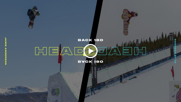 DEW TOUR HEAD TO HEAD MANTEL SWITCH BACK 180 b2