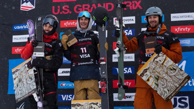 Freeski Mammoth Grand prix 2019