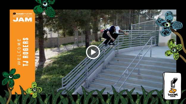TJ Rogers Boost Mobile Switch Jam 2019