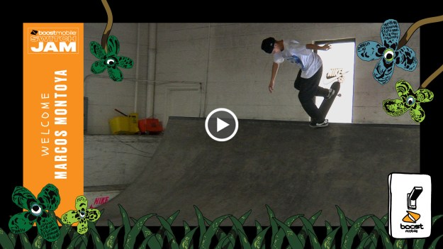 Boost Mobile Switch Jam Welcomes Marcos Montoya
