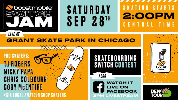 Boost Mobile Switch Jam Chicago