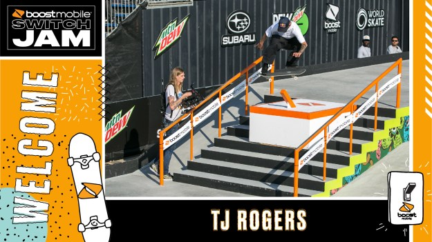 TJ Rogers Boost Mobile Switch Jam Chicago