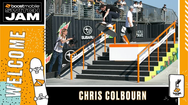 Chris Colbourn Boost Mobile Switch Jam Chicago