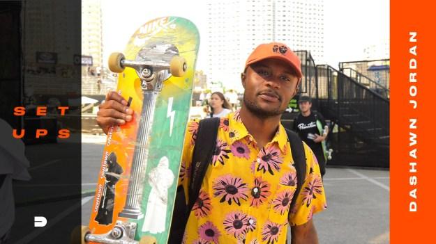 Dashawn Jordan Skateboard Setups