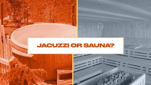 Either Or Jacuzzi or sauna