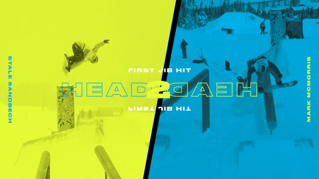 HEAD 2 Head Stale Sandbech vs Mark McMorris