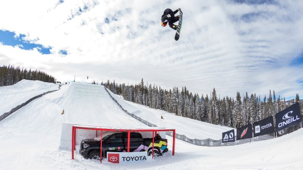 Men's Snowboard Slopestyle Livestream Dew Tour Copper 2020
