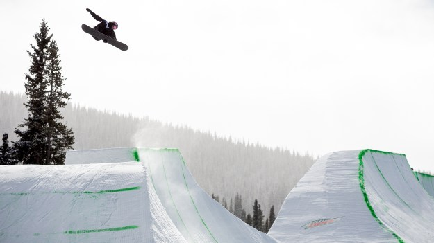Men's Snowboard Modified Superpipe winning runs