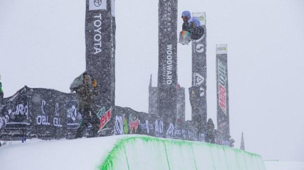 Snowboard Team Challenge Modified Superpipe Livestream