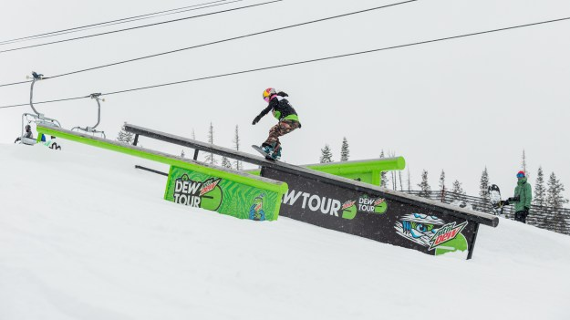 Women's Snowboard Slopestyle Dew Tour Copper 2020