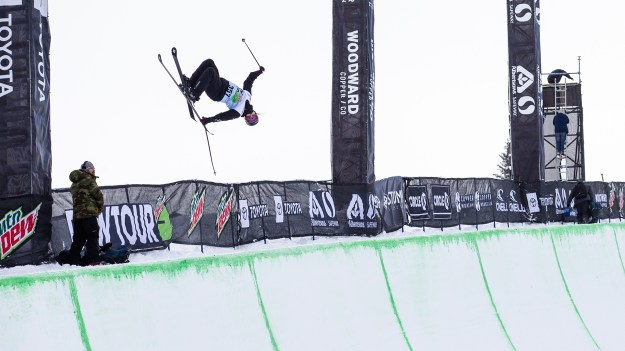 Women's Ski Modified Superpipe Winning Runs