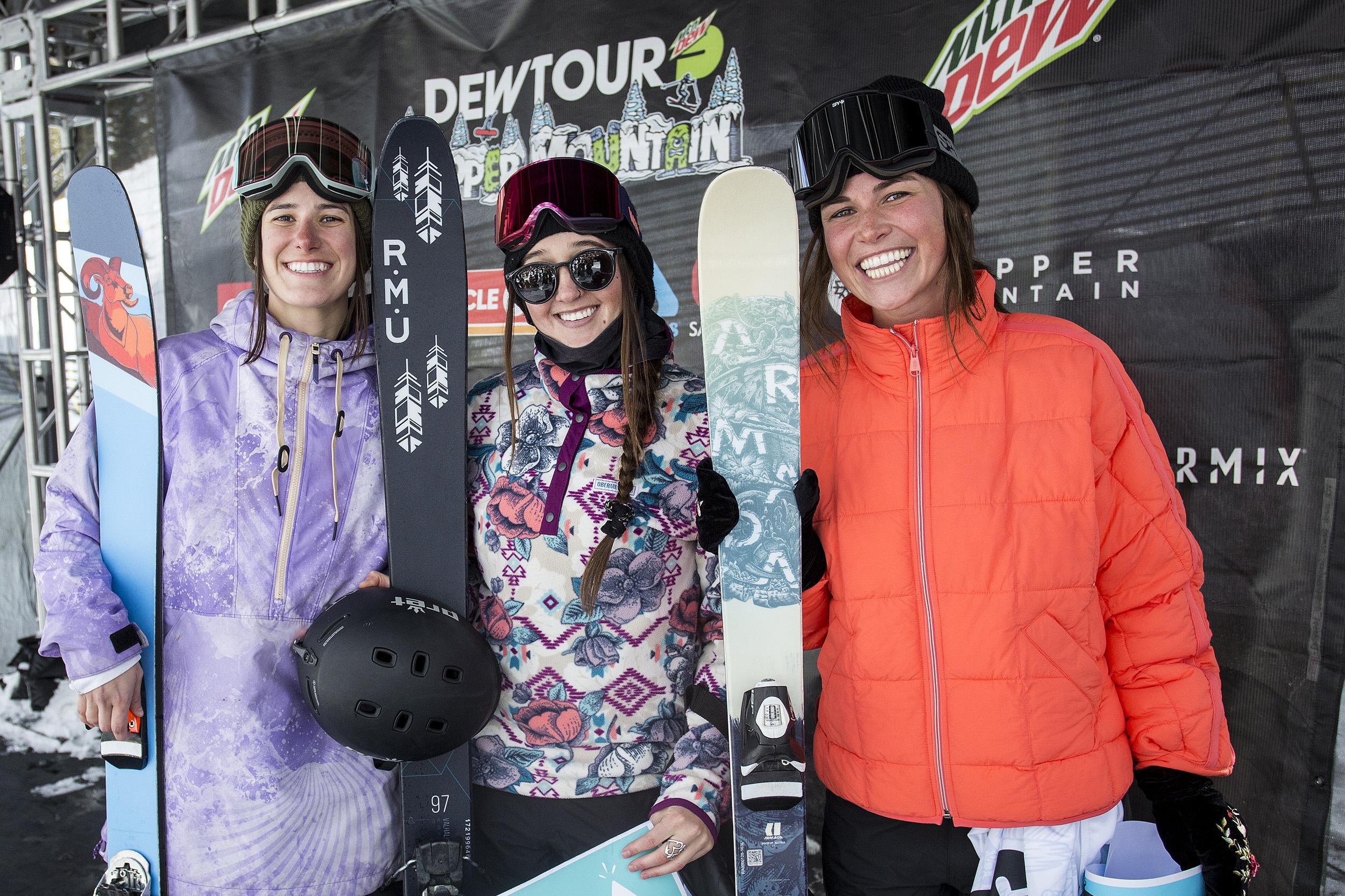 G.W.R. Ski Podium