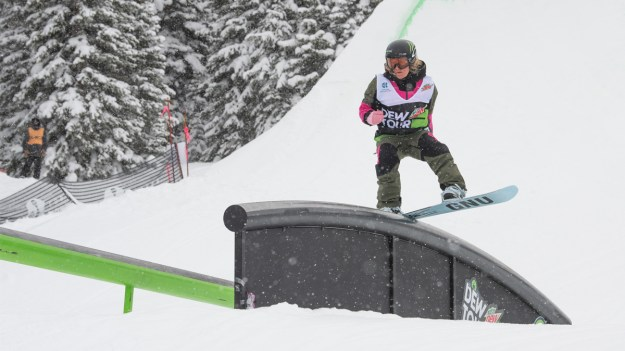 best of women snowboard slopestyle