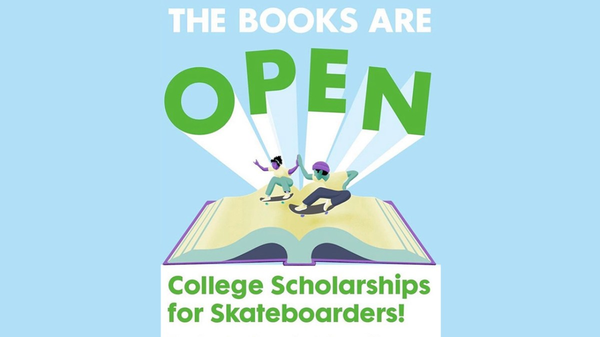 College Skateboarding Education Foundation Scholarship Applications Now Open