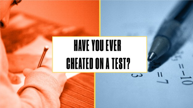 Either Or Cheated on Test
