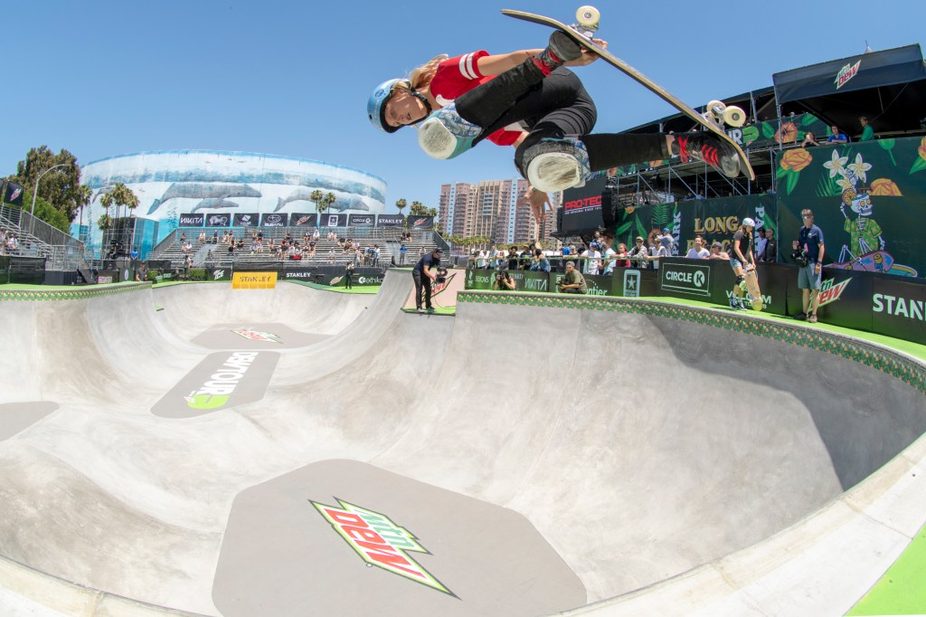 Bryce Wettstein at Dew Tour Long Beach 2018