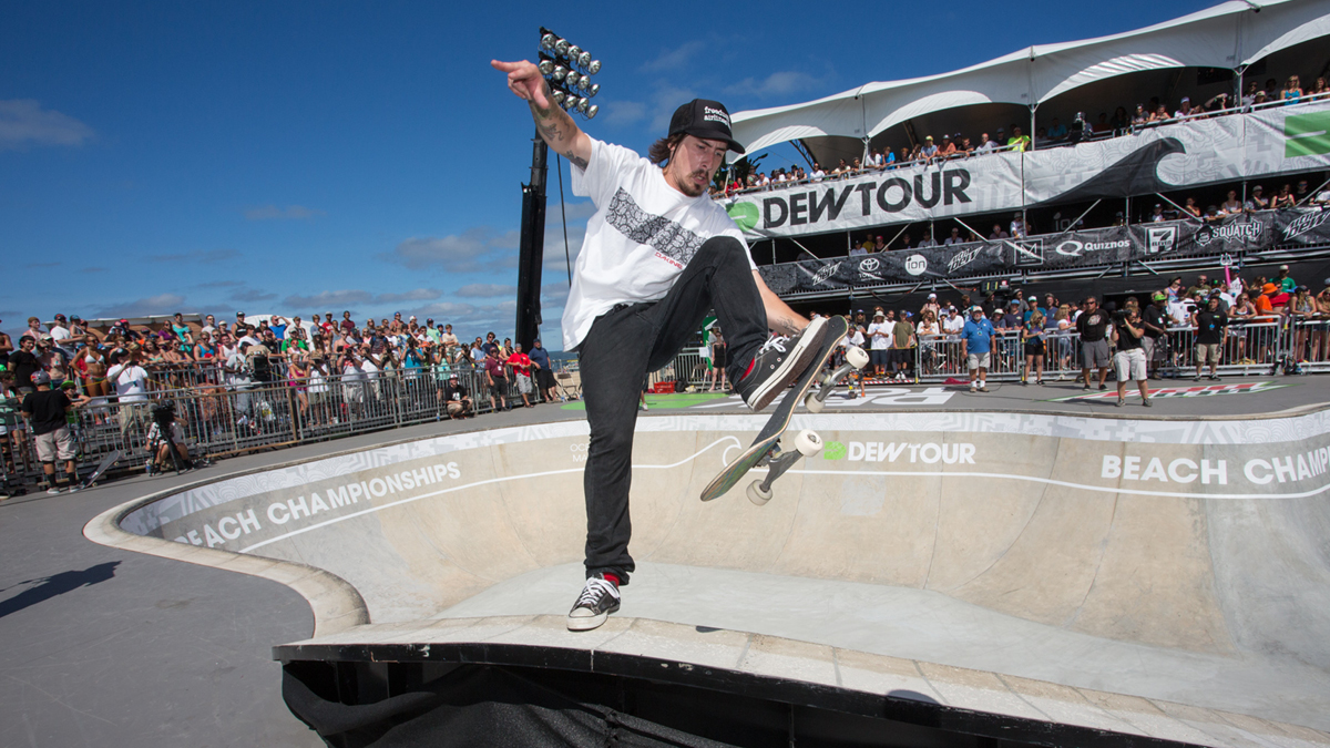 Kevin Kowalski Dew Tour Ocean City Beach 2014