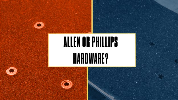 Allen or Phillips hardware