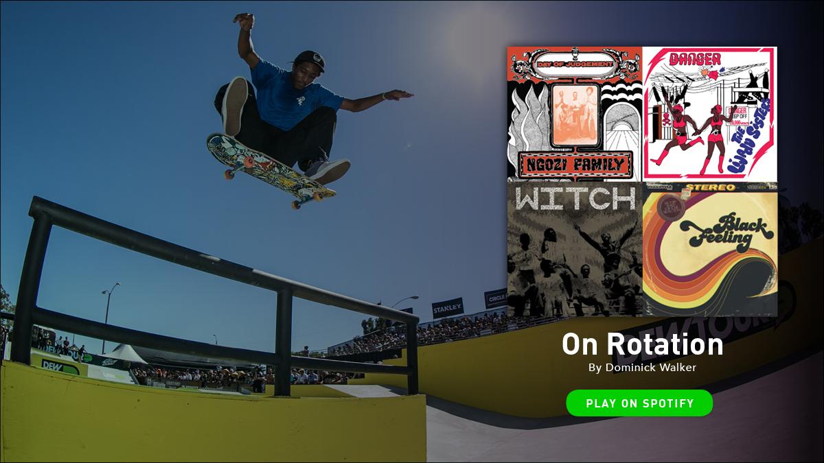 Dominick Walker On Rotation