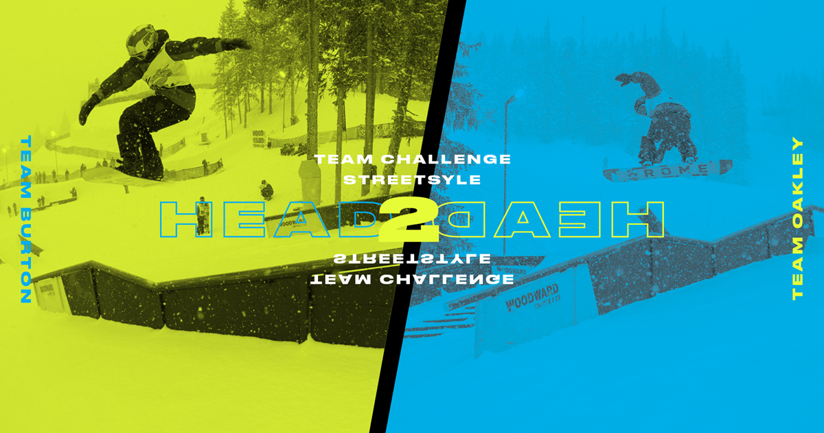 Head 2 Head: Burton vs. Oakley: Team Challenge Streetstyle Runs