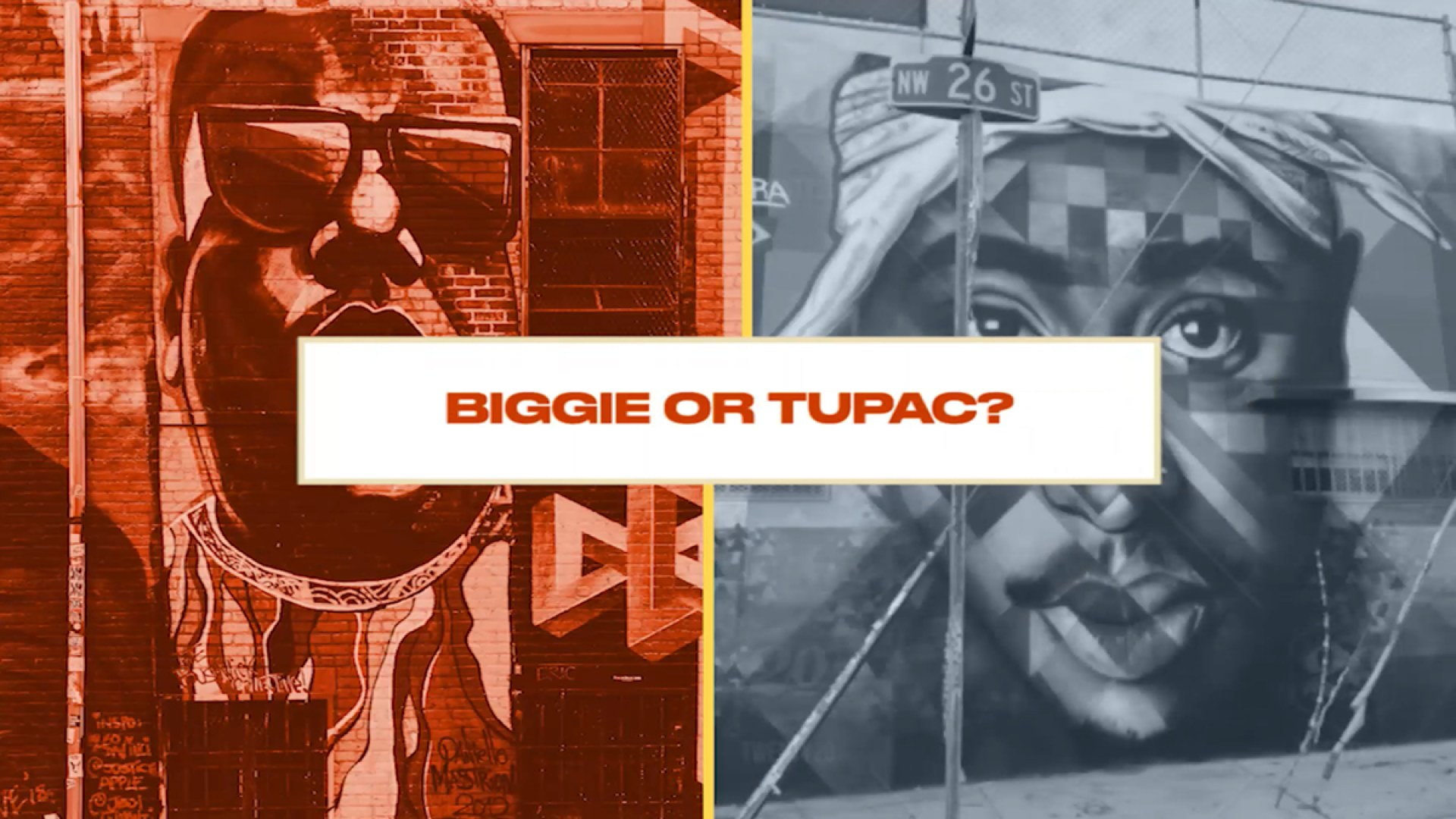 Either, Or: Winter Athletes Choose Between Rap Superstars Biggie or Tupac