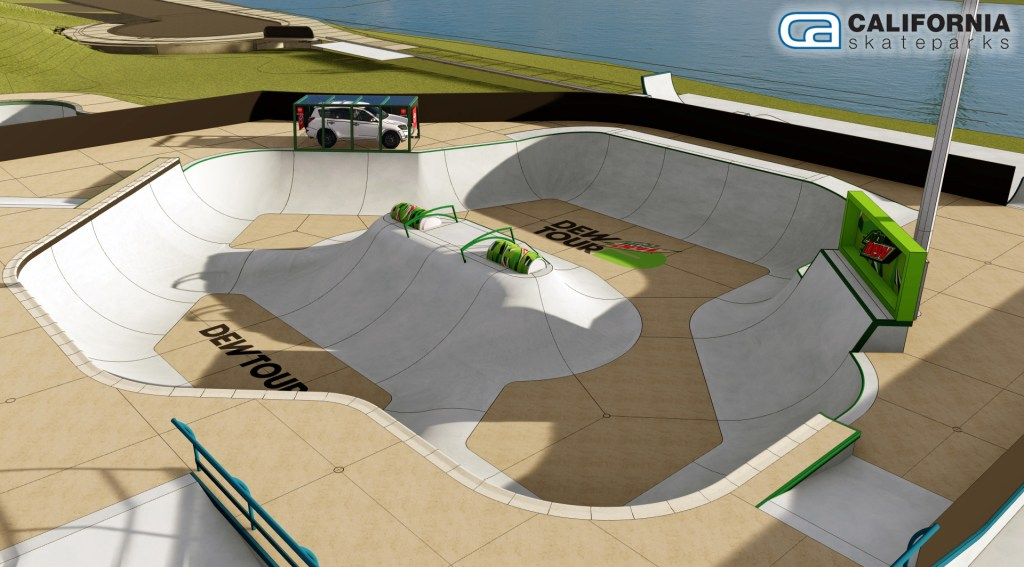 Dew Tour course preview