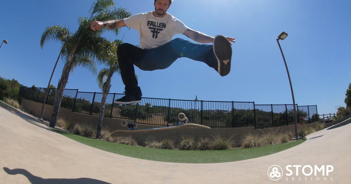 How to Heelflip with Chris Cole   Stomp Sessions