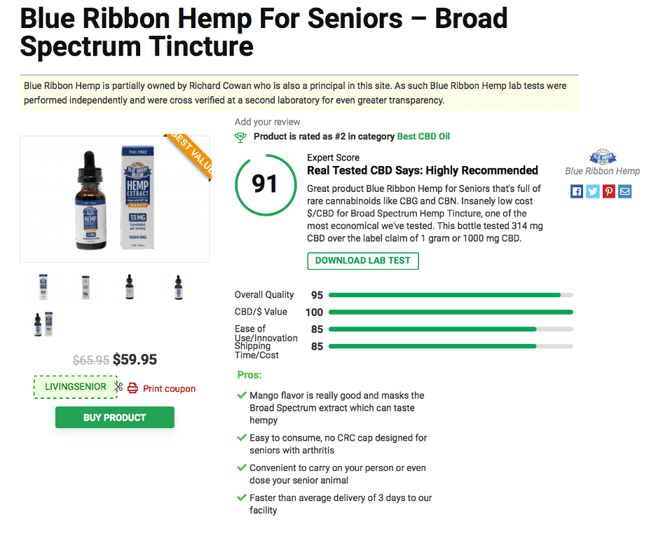 Blue Ribbon Hemp 3