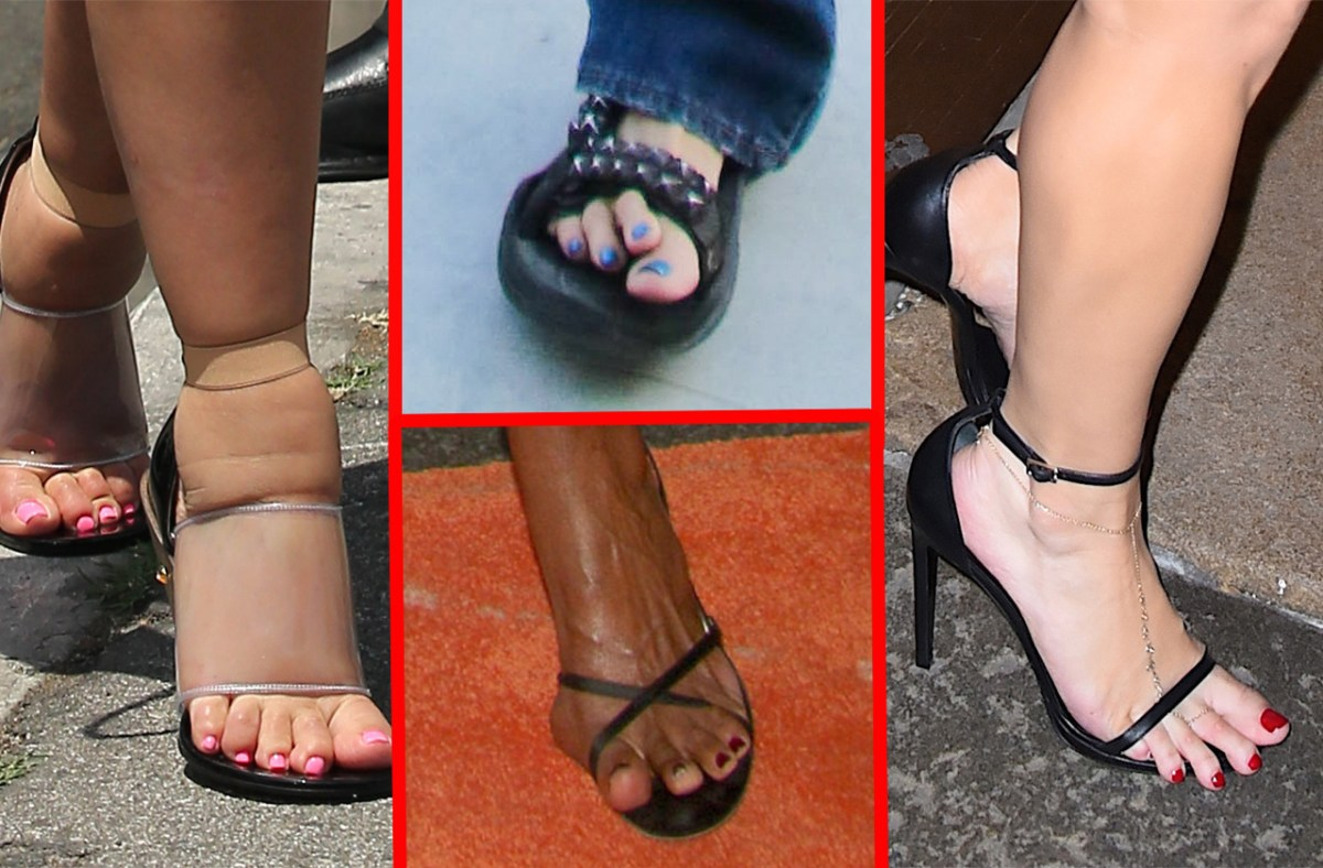 Celebrity Foot Fetishes | Shoe | Celebrity feet, …