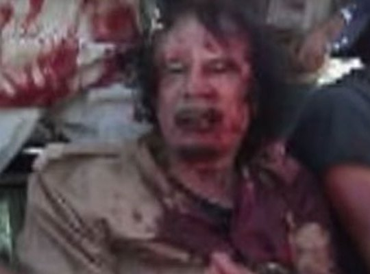 Gaddafi death featured