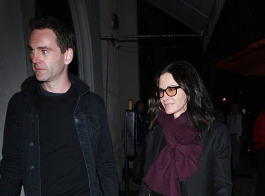 Courteney Cox Johnny McDaid F